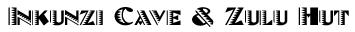 Inkunzi Cave and Zulu Hut Logo